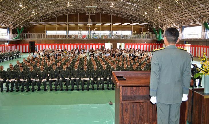 とうとう自衛隊に入隊…ってか案外余裕じゃん!入隊後の流れ
