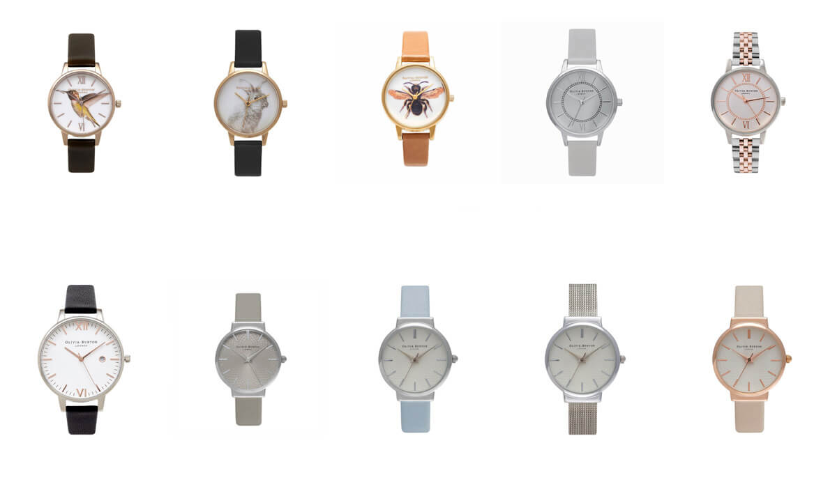 芸能人や海外セレブも愛用の人気腕時計「オリビアバートン」の正規品が日本で販売開始