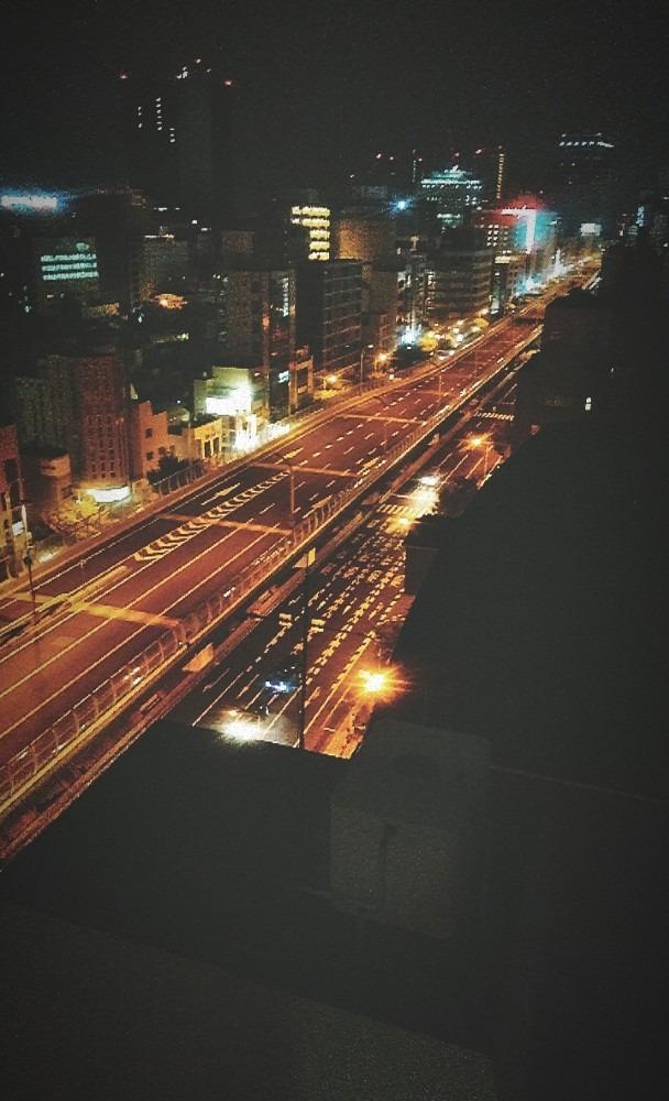 深夜の大阪